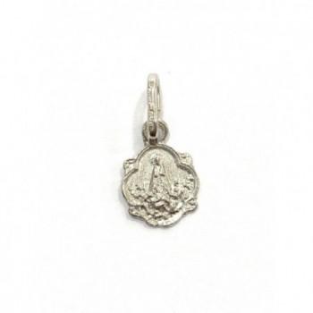 Medalla Virgen de los Desamparados plata de ley