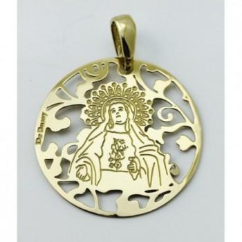 Medalla Virgen de Amargura...