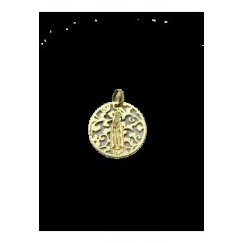 Medalla Virgen de Fátima en...