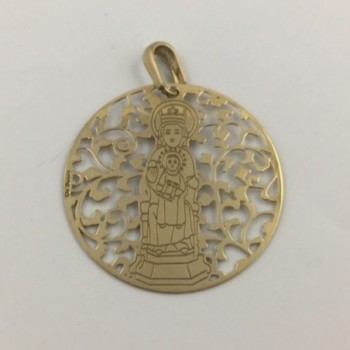 Medalla de la Virgen de la...