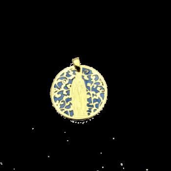 Medalla Virgen de Lourdes...