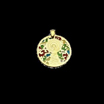 Medalla Virgen del Pilar en...
