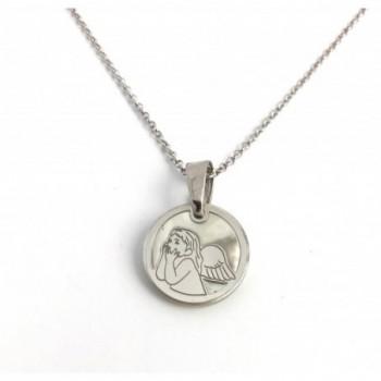 Medalla Angel plata de ley...