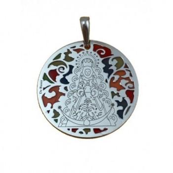Medalla Virgen del Rocío en...