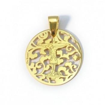 Medalla San Benito en plata...