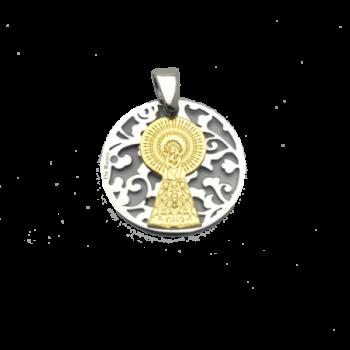 Medalla Virgen Pilar en...