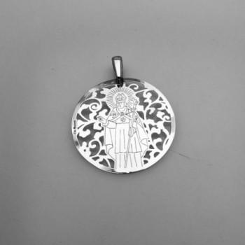 Medalla Sant Narcis plata...