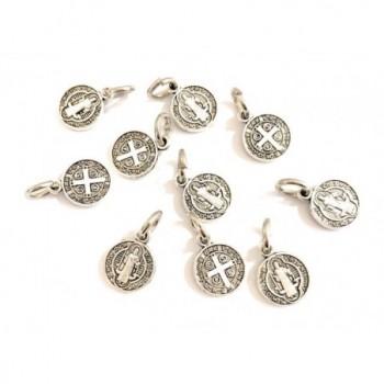 10 Medalla San Benito metal...