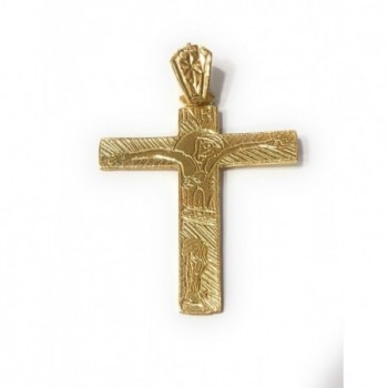 Cruz Familia Camino Neocatecumenal en plata de ley