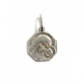 Medalla Virgen del Camino Neocatecumenal en plata de ley